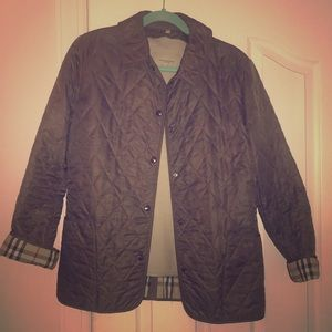 Burberry Diamond Quilted Jacket lined medium
